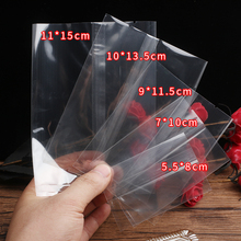 Transparent Packaging bags Plastic Candy Bag Birthday Party Package Cake Bread Biscuit Chocolate Machine Sealing Bags 200pcs