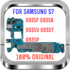 with Android System,100% Original unlocked Logic Boards for Samsung Galaxy S7 edge G935FD Motherboard with Dual Sim Card