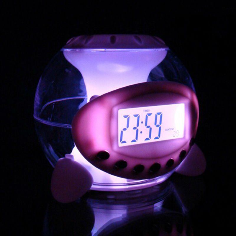 clock online picture more detailed picture about led night light