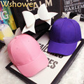 Black White Pink Purple Cotton Women Girl Cute Snapback Cap With Bow Cartoon Spandex Elastic Fitted Hats Sunscreen Baseball Cap