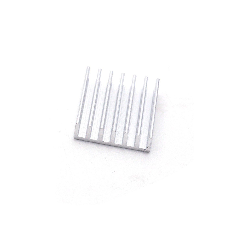 24 Pcs Kühler Kühlung Modulare Gelten Raspberry Pi Ic Chip Metall Metalloxid-halbleiter-feldeffektrohr Transistor 20X20X6 Mm
