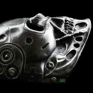 Image 3 - Halloween COS Terminator Helmet Masks Horror CS Paintball Ghost Creepy Resin Mask Masquerade Skull Movie Party Cosplay Props