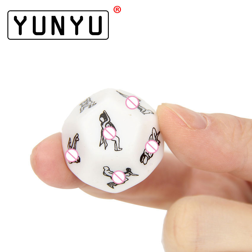 1PC Humour Gambling Sex Toy For Couple Adult Game,sex Products Sexy Romance Erotic Craps Dice Pipe Flirting Toys 2.5cm