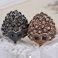 2016 New Product Women's Wedding Party Birthday Jewelry Vintage Bohemian Style Hedgehog Ring S239