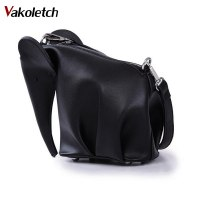Women Leather Handbags Casual Cross Body Elephant Shaped Bags Girlsladies Messenger Bag Purse Shoulder Bags 5