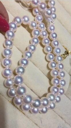 Livraison gratuite>>>> bijoux nobles 10-11mm naturel mer du sud collier de perles blanches or 14 K