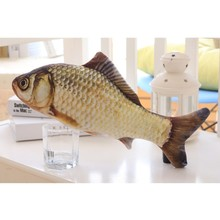 Realistic Fish Shaped Cat Toy