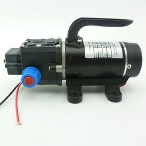 Небольшая портативная электрическая диафрагма высокого давления, водяной насос постоянного тока 12 В, самовсасывающий распылитель, насос с...