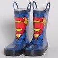 Niños Zapatos Niños Botas Zapatos de Los Niños Héroes de Dibujos Animados Rainboots Rainboots Botas de Lluvia de La Moda Para Niños Babys Zapatos De Goma