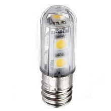 hot sale 8 Pack E14 1W Led Refrigerator Bulbs 7 Smd 5050 Warm White Colour 15w Replacement for Halogen bulb 3000K 45LM Energy(China)