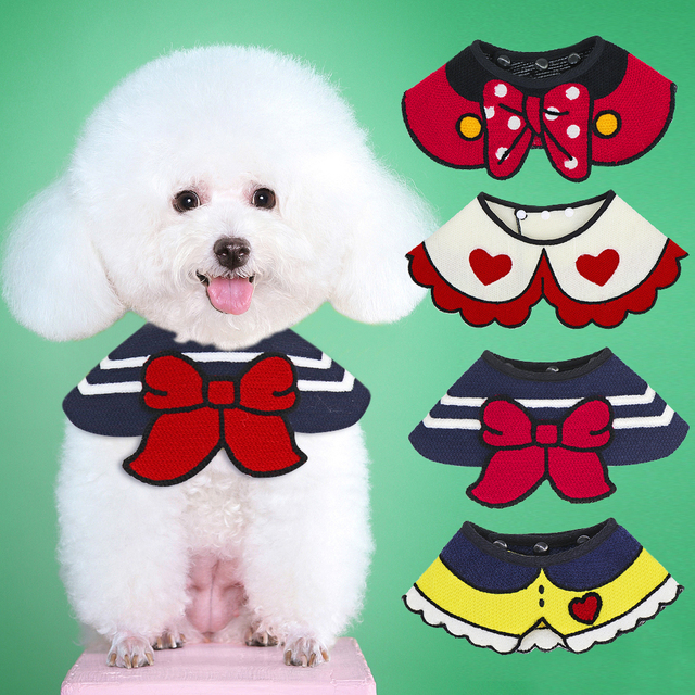 Dog Accessories Dog Cat Bandana Puppy Kitten Bowtie Dog Collar Pets Acessorios For Dogs Scarf Mascotas Accesorios Pet Products