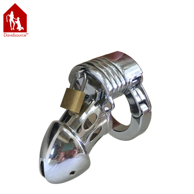 Davidsource Heavy Metal Adjustable Chastity Device Birdcage For Man Cock Cage Male Penis Torture Kit Fetish Men Sex Toy