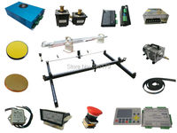 1313 /100w DIY assembly install Co2 laser cut machine . with 100w CO2 tube.laser power .controller and all parts