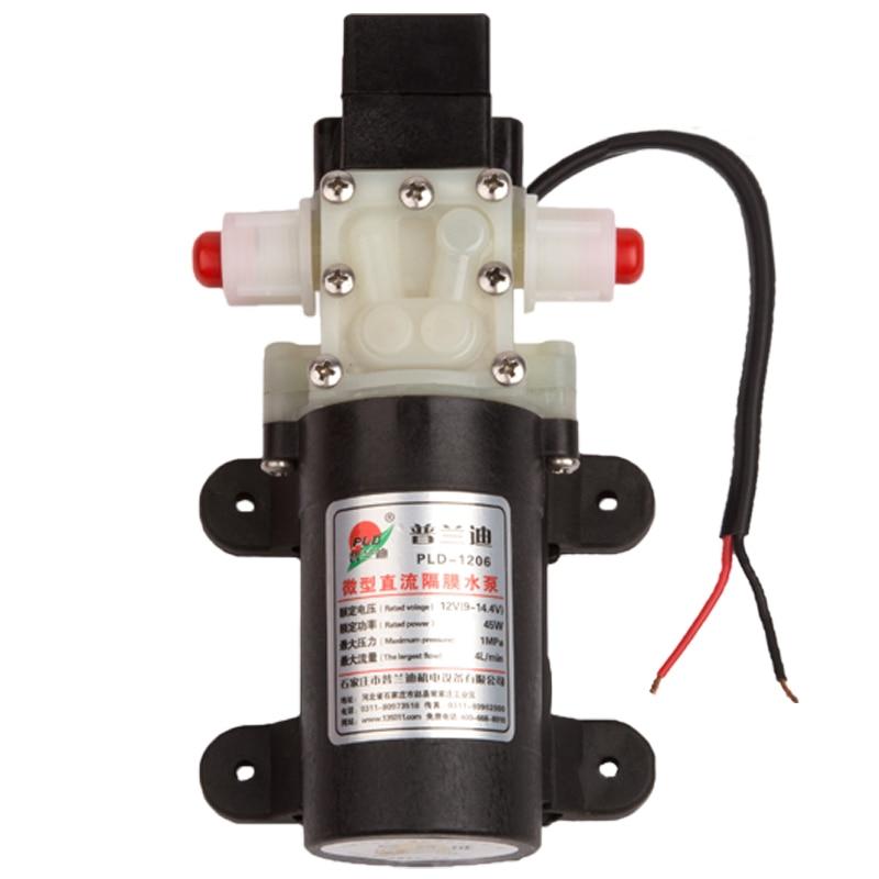 DC 12 volt 45W 4L/min small Automatic pressure switch 12 v water pumpDC 12 volt 45W 4L/min small Automatic pressure switch 12 v water pump