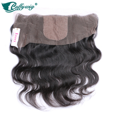 Body Wave Silk Base Frontal Brazilian Virgin Hair Free Part 8-20icn Lace Frontal Ear to Ear Lace Front Closure Blenched Knots