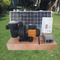 Solar Power Spa Swimming Pool Water Pump,Pool Heating Pump 48V 500W Run Free