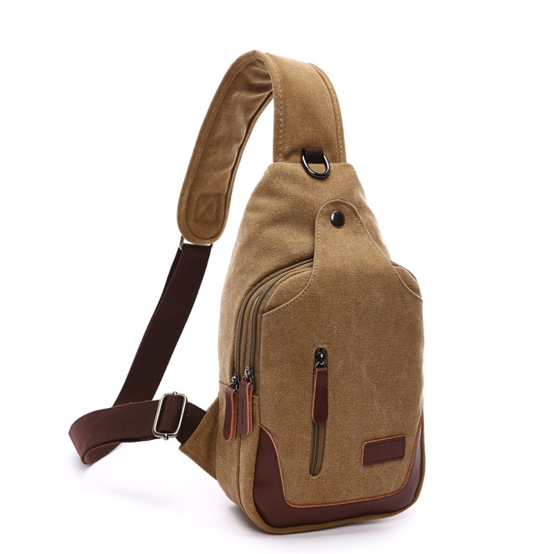 New Quality Military Man Messenger Bag Casual Travel Chest Bag Wash Water Canvas Small Crossbody Back Pack Men Shoulder Bag DB54 vintage canvas chest bag men new crossbody shoulder bag multifunction casual travel bag fashion large capacity chest bag for men
