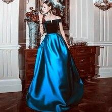 Verngo Satin Fashion Green Evening Dresses Vintage Formal Dress Long Boat Neck Vestido Elegante Robe Longue вечернее платье brand new 2015 vermelha elegante vestido 330184