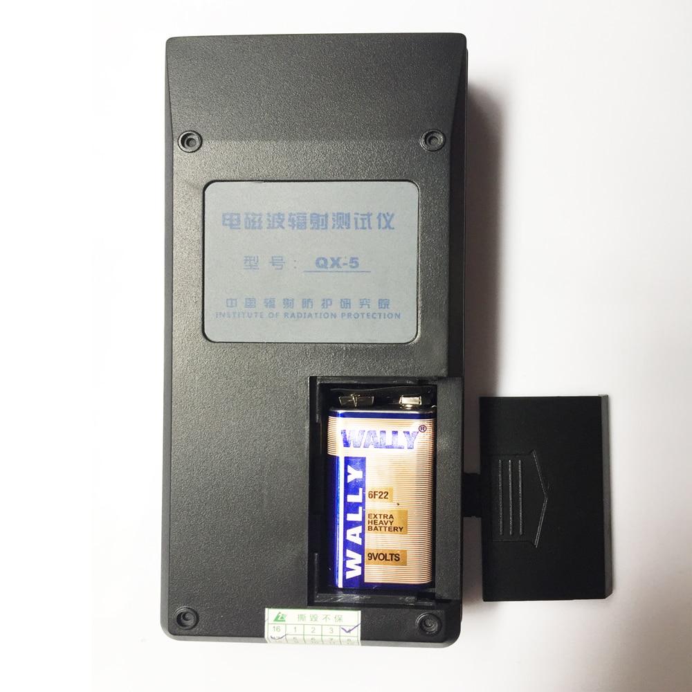 EMF teszter, elektromágneses sugárzásdetektor QX-5 Háztartási - Mérőműszerek - Fénykép 6