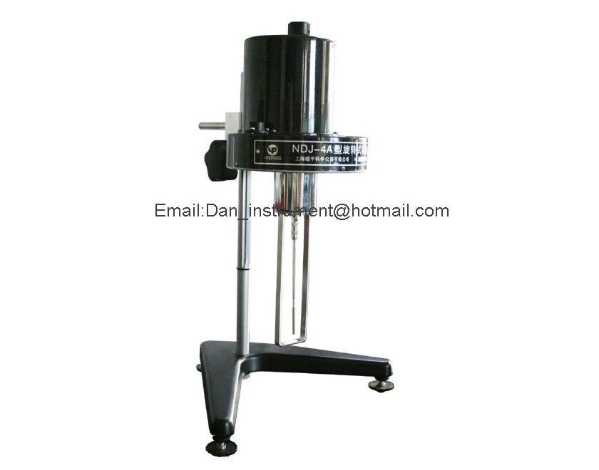 Rotational Viscometer NDJ-4 Rotary Viscosity Tester Meter One Year Warranty digital viscometer ndj 1 viscometer paint viscosity tester rotary viscometer pointer viscometer