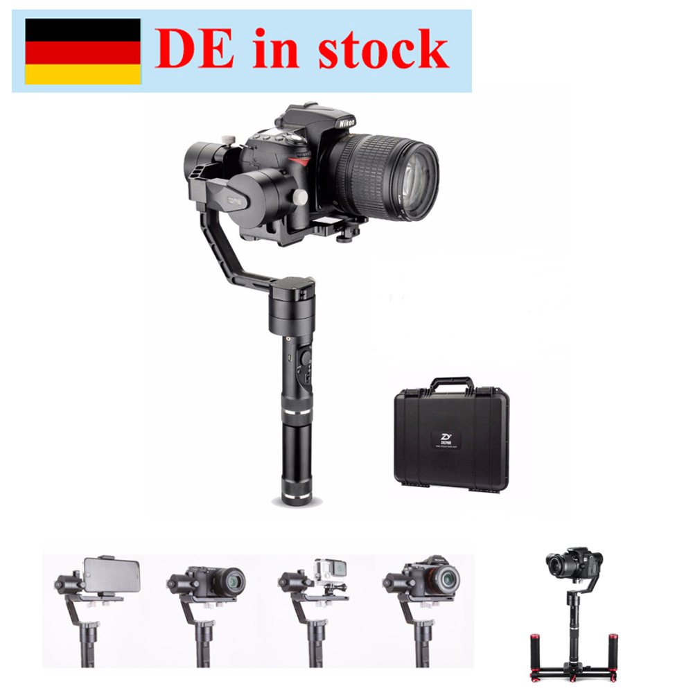(can ship from Germany) Zhiyun Gimbal Crane V2 3 Axis Handheld Gimbal Stabilizer for Canon Nikon Sony DSLR Cameras w/ Hard Case