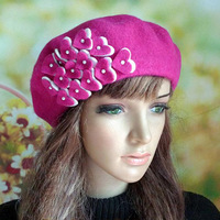 Wholesale New Fall And Winter Hot Selling Popular Lady Fashion Wool Beret Hat