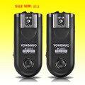 Conjunto disparador yongnuo rf-603 ii disparador de flash 2 transceptores para canon nikon pentax dslr cámara rf-603 ii c1 c3 n1 n3