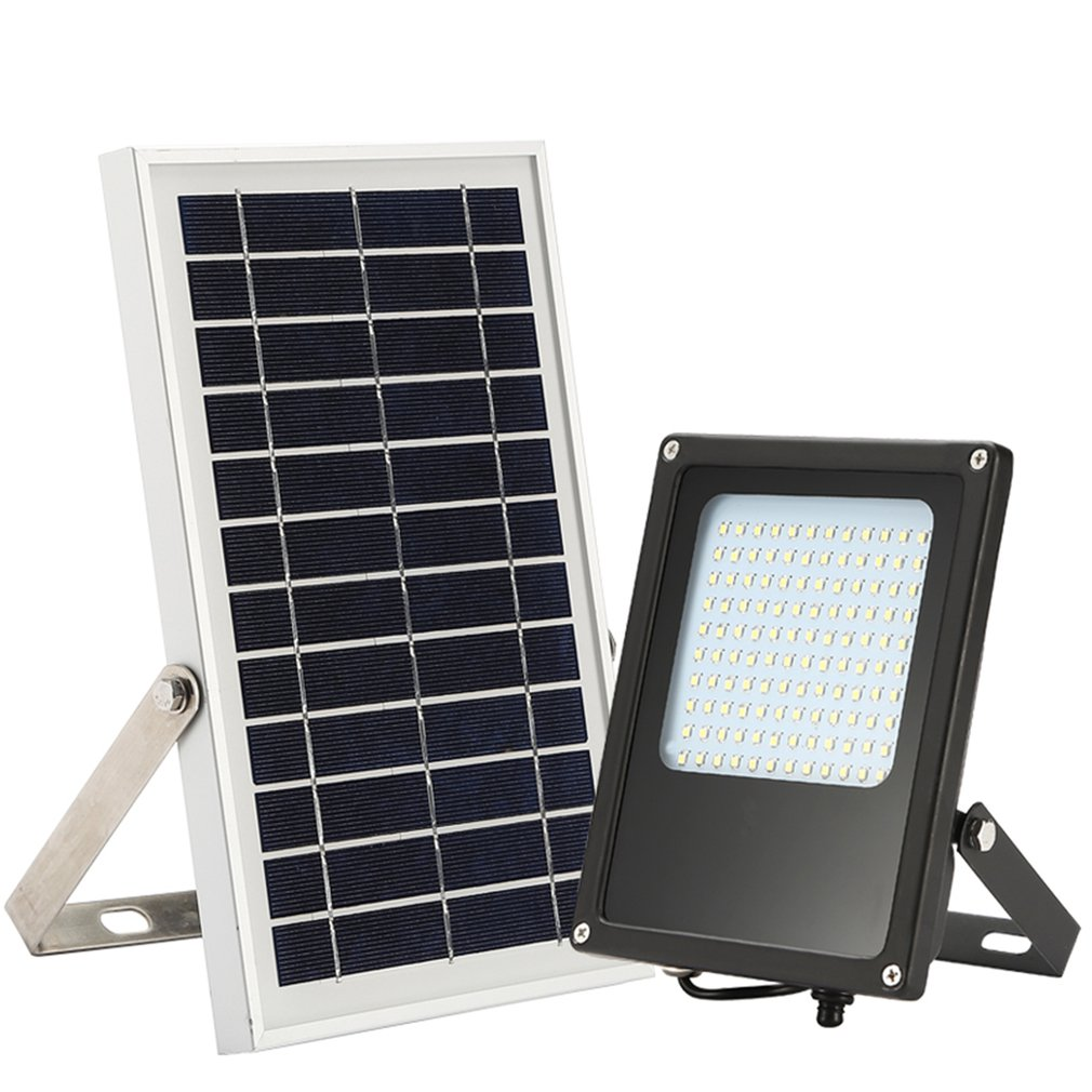 Solar Lamps Outdoor Lighting 3w 6w 12/54/120 Leds Split Type Pir Motion Sensor Remote Control Solar Panel Power Outdoor Indoor Home Led Ceiling Light Lamp