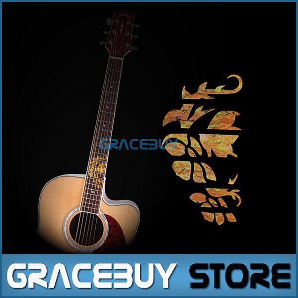 Guitar Fretboard Markers Inlay Stickers Yellow Decals For Electric Acoustic Guitar Fret Neck New настольная лампа mantra nur 5366