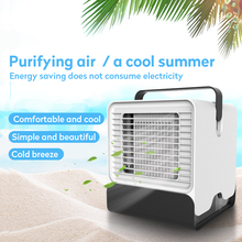 Mini USB Air Arctic Personal Space Negative Ion portable Conditioner fan Small Cooling Fan for Device Home Office Desk