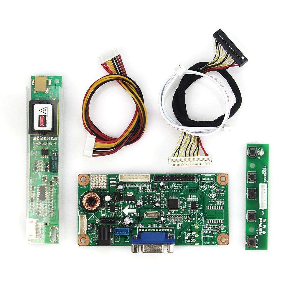 LCD Control Driver Board (VGA Input) For LTN141XF-L01 LTN141X7-L06 1024x768 LVDS Monitor Reuse Laptop