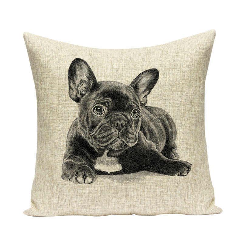 ใหม่สำหรับสุนัขหมอนอิง Home Decor โยนหมอนการ์ตูนคุณภาพสูงครอบคลุม 45*45 สัตว์สำหรับ Home Bed เก้าอี้โซฟา Gife