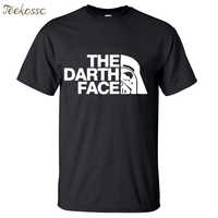 Star Wars The Darth Face Vader Men T Shirt 2018 Summer Hot Sale Fitness Men T Shirts 100% Cotton Round Neck Short Sleeve T-Shirt