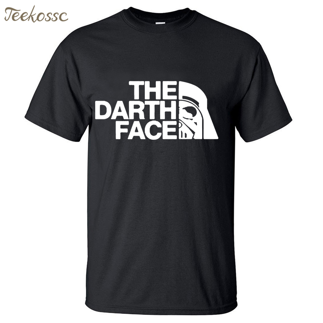 Star Wars The Darth Face Vader Men   T     Shirt   2018 Summer Hot Sale Fitness Men   T     Shirts   100% Cotton Round Neck Short Sleeve   T  -  Shirt