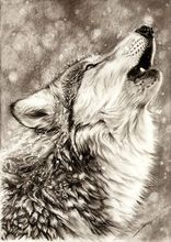 цена на 5D DIY Diamond Embroidery Wolf DIY Needlework Diamond Painting Cross Stitch 5D Rhinestones Mosaic Painting Home Decor