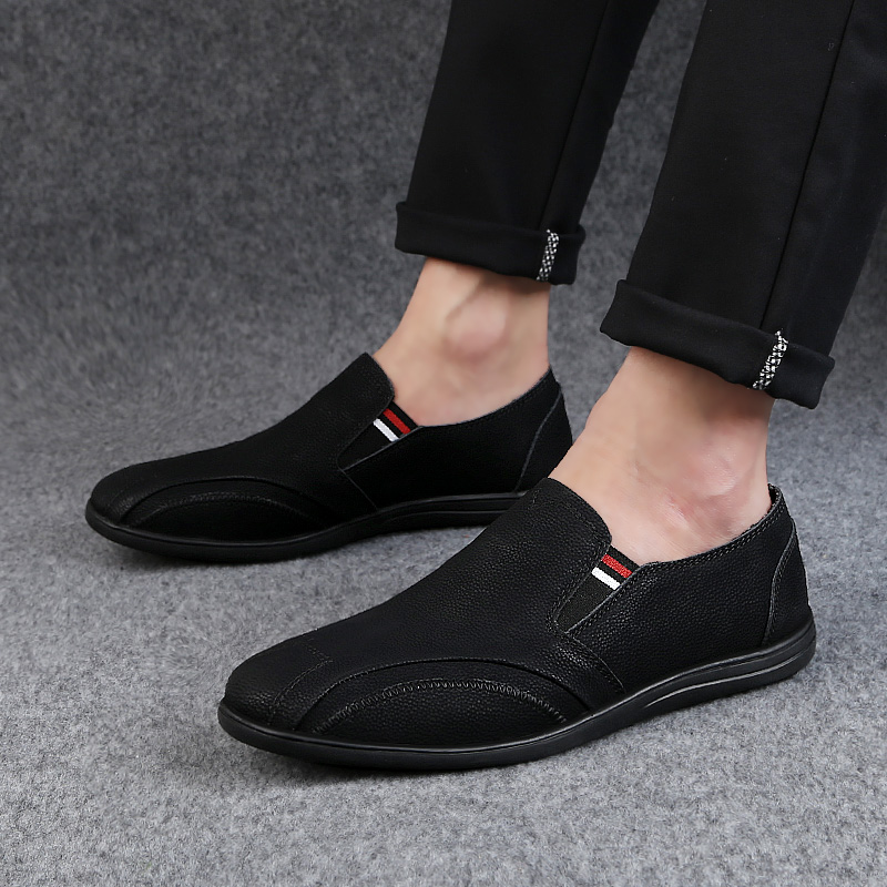 2018 new style men's casual shoes loafers breathable youth man shoes - Men's Shoes - Photo 2