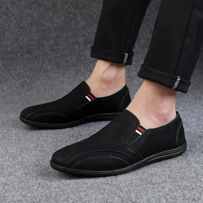 2018 nouveau style casual chaussures mocassins respirant jeunesse - Chaussures pour hommes - Photo 2