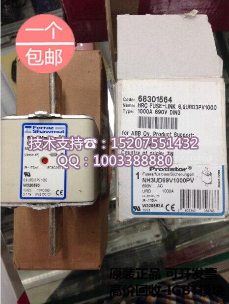 Roland Ferraz NH3UD69V1000PV 1000A 690V new original cartridge fuses fuses
