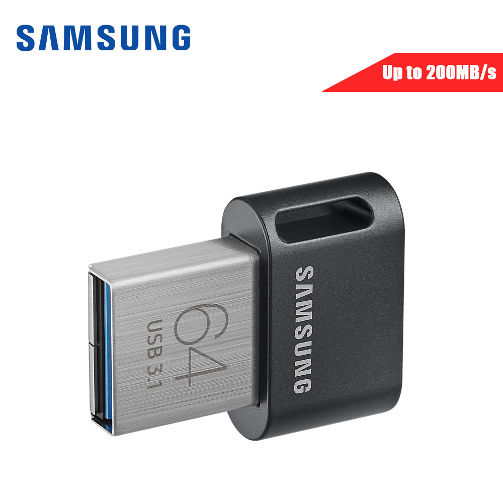 Samsung mini USB Flash Drive 64 gb Metallo della discoteca en clave 32g clef usb 3,1 128g 256g pendrive hasta 300 mb/s FIT/AB memoria usb 3. 0