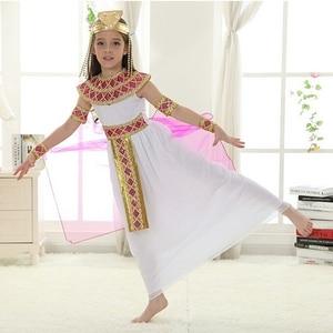 Image 3 - Halloween  Arabian Egypt Princess Dress Girl Cute Queen Dress Cosplay Carnival Party Beautiful Kids Children Cosplay Costume