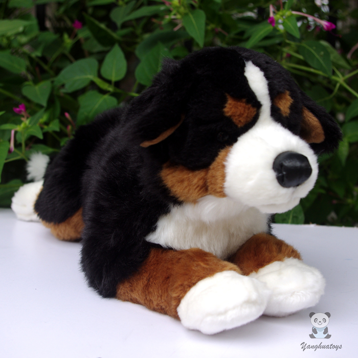 Big Children'S Toy  Birthday Gift  Cute Plush Dolls Toys Simulation Bernese Mountain Dogs Pillow stuffed animal big toy cute plush bernese mountain dog doll toys for children gift pillow