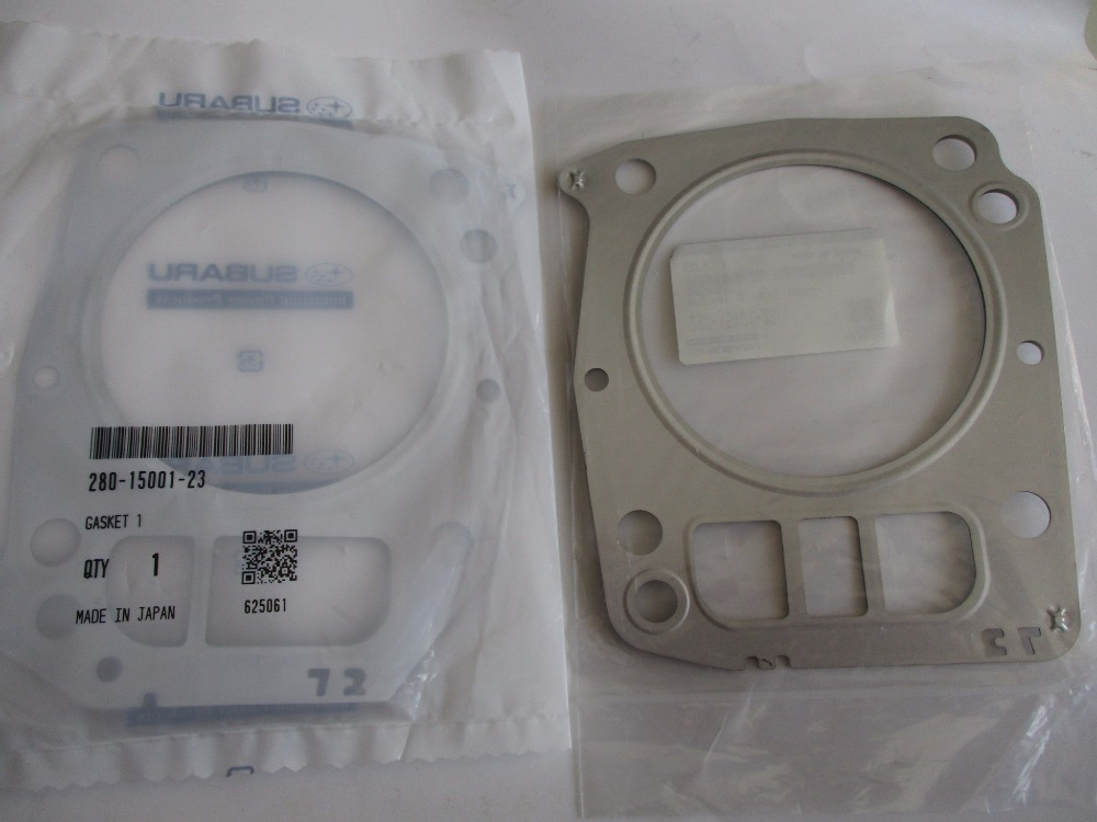 EF14000E EH72 cylinder head gaskets double-layer gasoline generator parts iso 14000