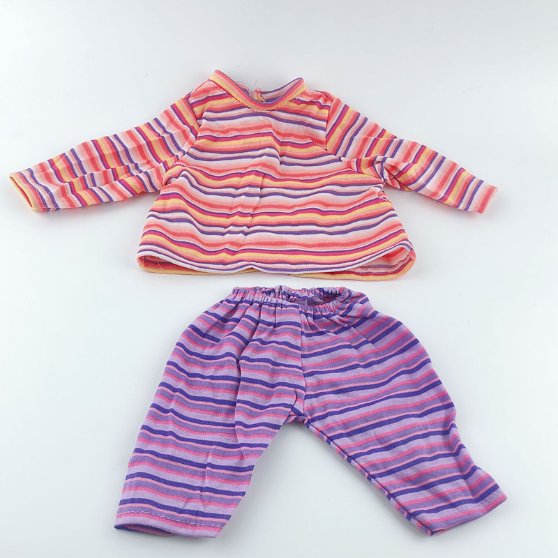 New 11 Styles Doll Clothes Wear For 36cm My First Annabell, 14 Inch Baby Doll Clothes, Children Best Birthday Gift