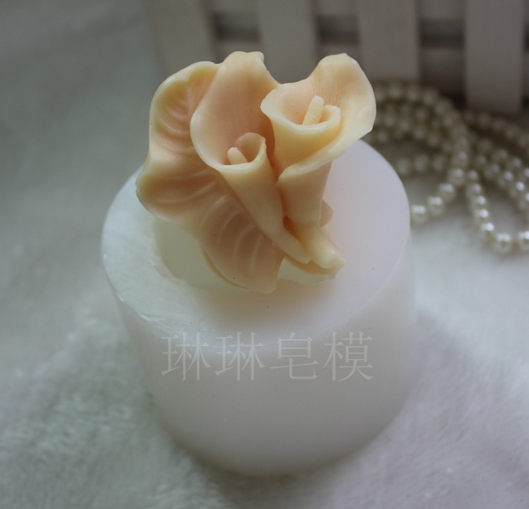 Craft Bird Square Soap Molds Silicone Handmade Polymer Clay Candle Moulds
