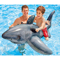 Children's Cartoon Sharp Shape Swimming Raft Float Kids Swimming Training Accessories Eco-friendly PVC Floating Bed For Kid A019