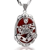 The Twilight Saga The Vampire Of Cullen Clan Badge Necklace Pendant 925 Sterling Silver Jewelry