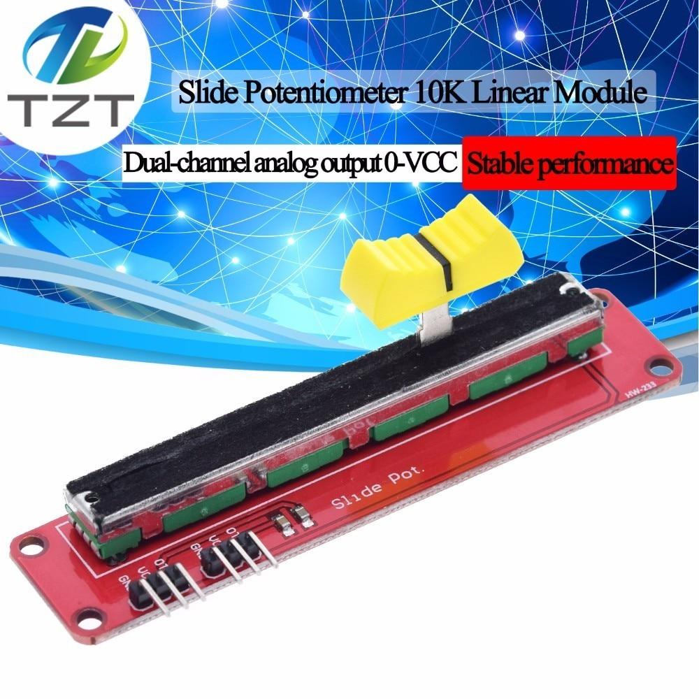 Slide Potentiometer 10K Linear Module Dual Output Arduino AVR Electronic Block