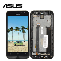 For Asus Zenfone 2 ZE500CL Z00D LCD Display Panel Touch Screen Digitizer Glass Sensor With Frame