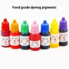 10 мл/бутылка пищевой красящие пигменты съедобное мыло свечи Пластилин DIY водорастворимый