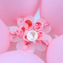 10/20/30pcs Flower Modelling Balloons Clip Birthday Party Wedding Decoration Ballons Accessories Foil Balloons Sealing Clamp